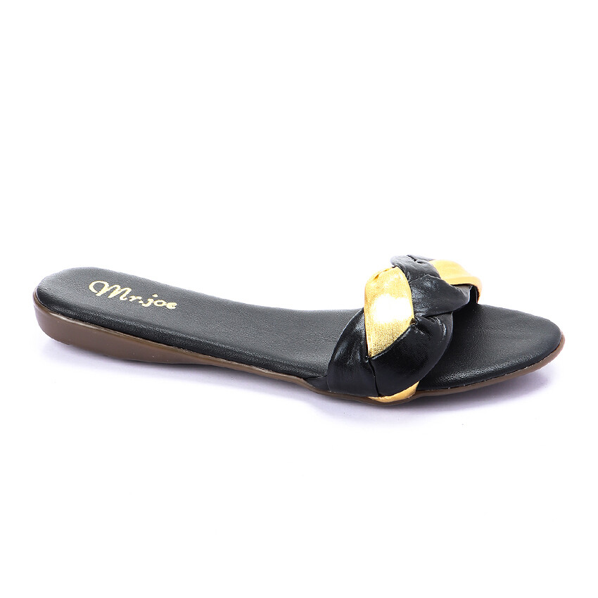 3266 Slipper -  Gold