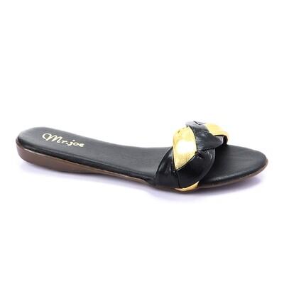 3266 Slipper -  Gold