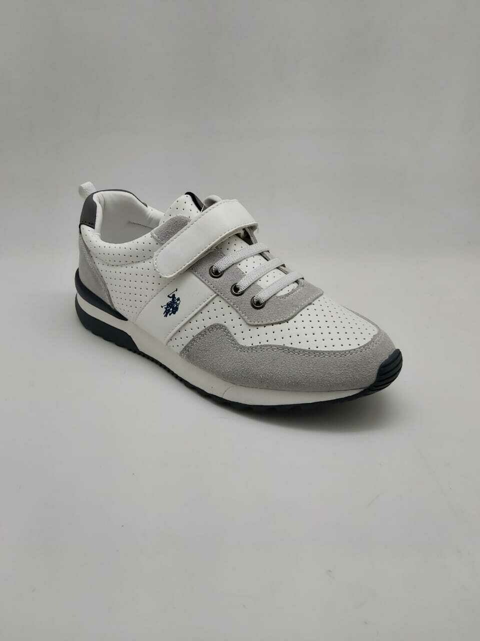 3444 Casual Shoes Kids - White * Gray