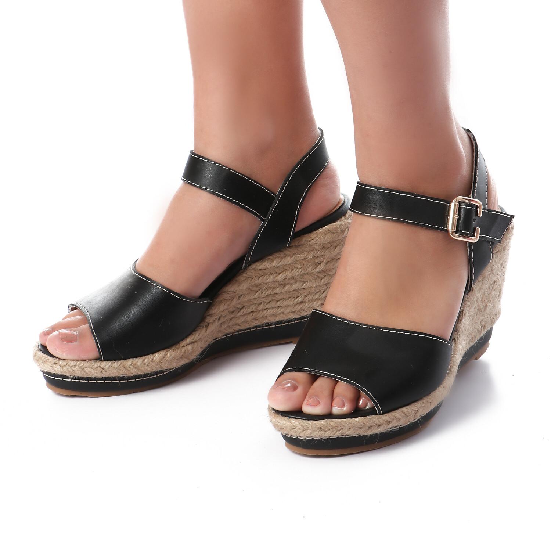 3397 Sandal - Black