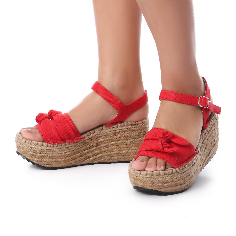 3398 Sandal - red