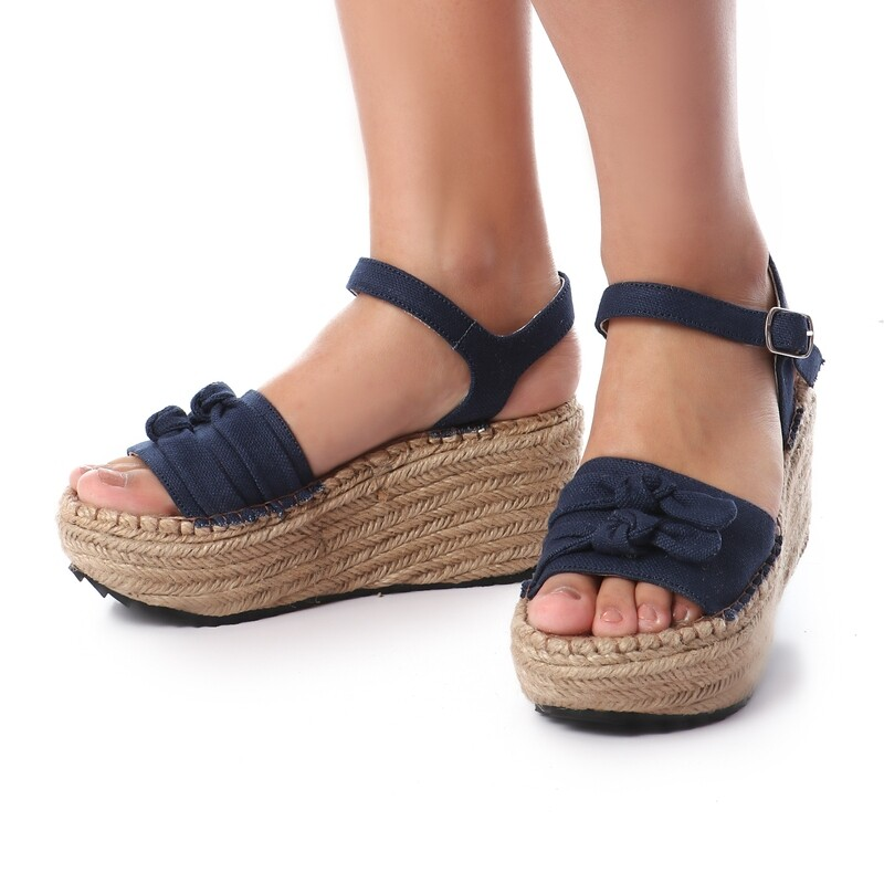 3398 Sandal - Dark blue