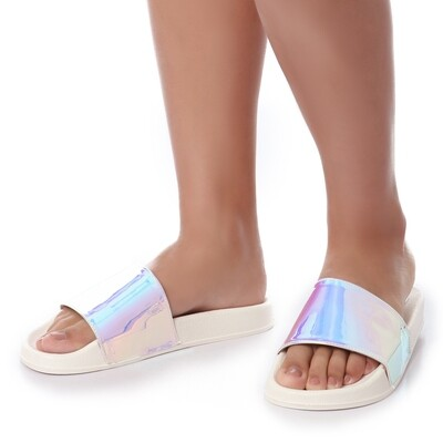 3438 Slipper - Purple V