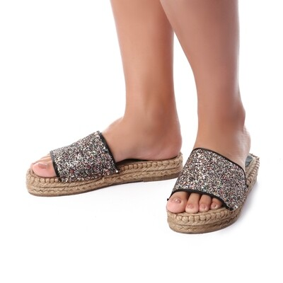 3441 Slipper - black