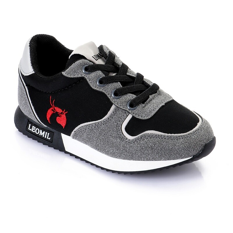 3446 Casual Shoes Kids - Black