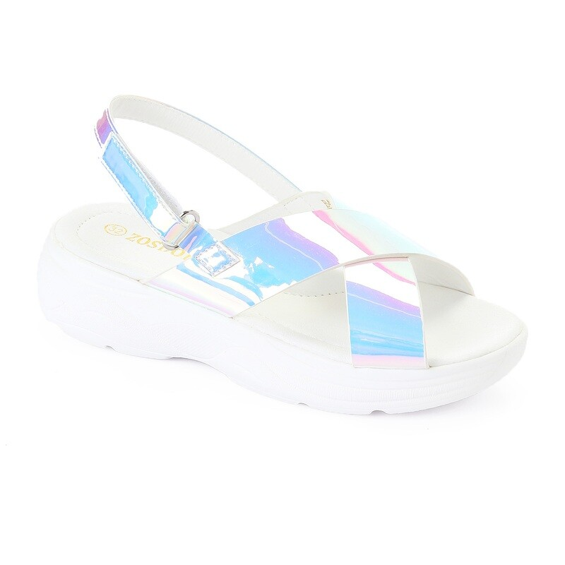 3451 Casual Sandal Kids -White V
