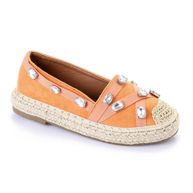 3449 Casual Sneakers Kids - orange