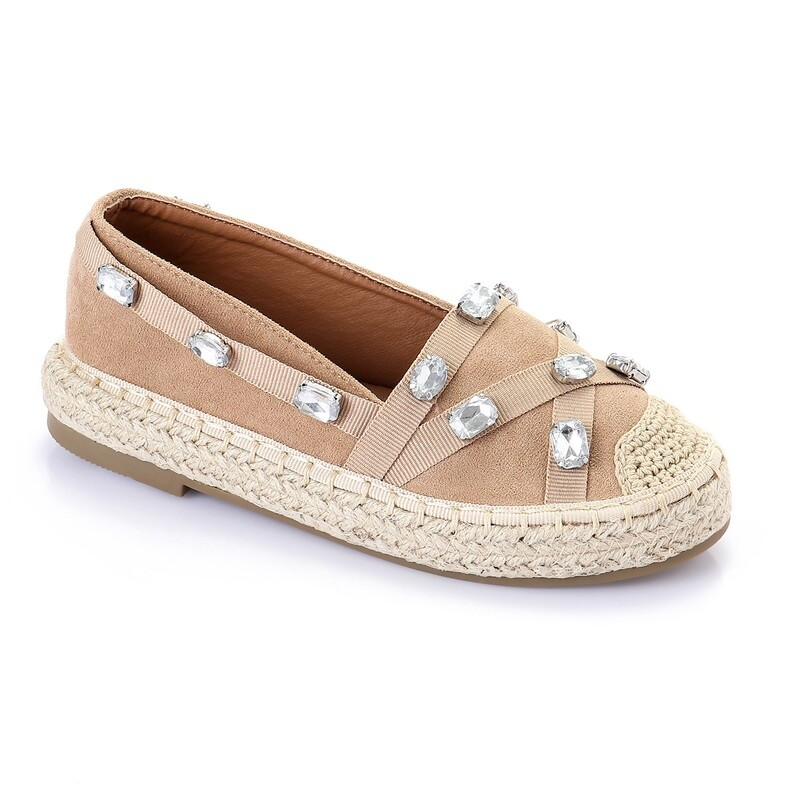3449 Casual Sneakers Kids - Beige