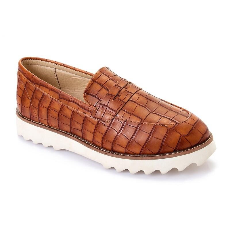 3456 Casual Sneakers - havan crocodile