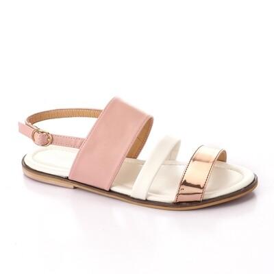 3361 Sandal - Pink*White