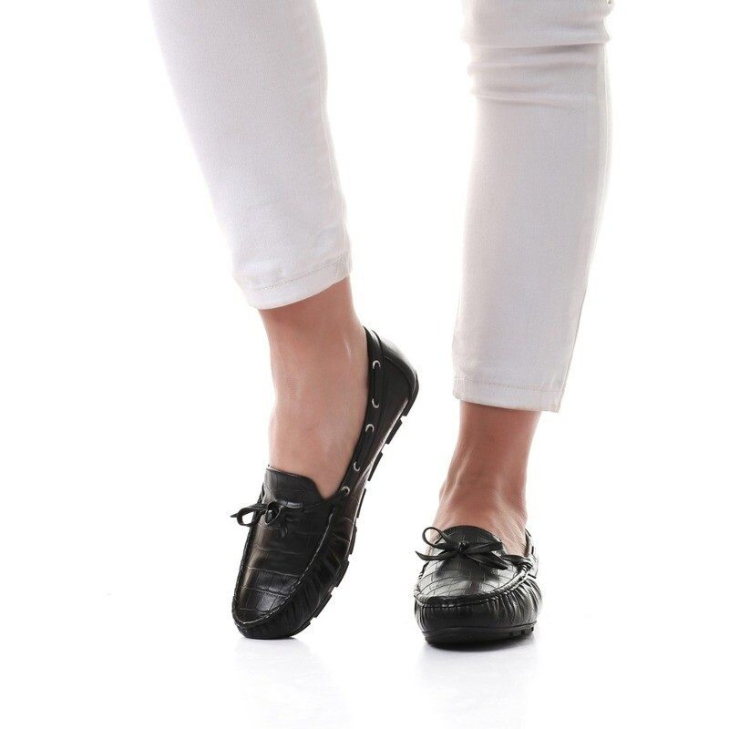 3457 Ballet Flat Shoes - black
