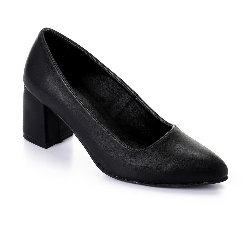 3391 Shoes - Black Leather