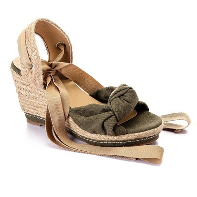 3463 Sandal - Dark Green