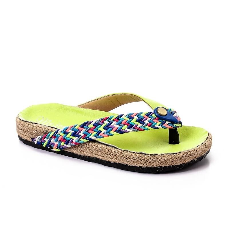 3471 Slipper - light green