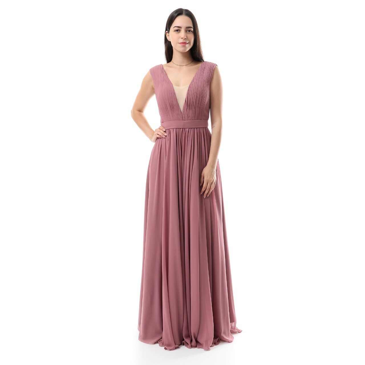 8513 Soiree Dress -cashmer