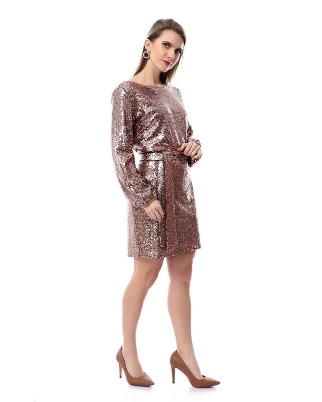 8492 Soiree Dress - copper