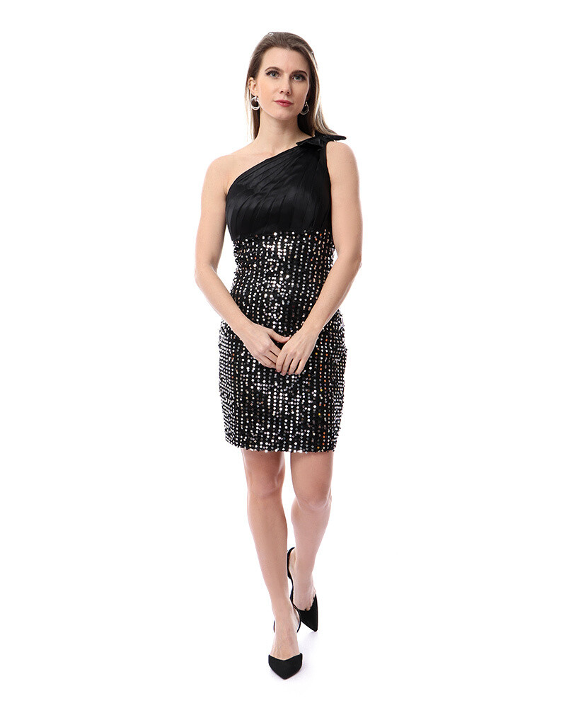 8491 Soiree Dress - black
