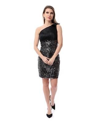 8491 Soiree Dress - black