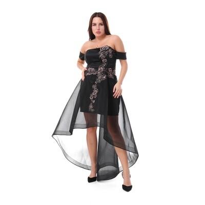 8461 Soiree Dress - black