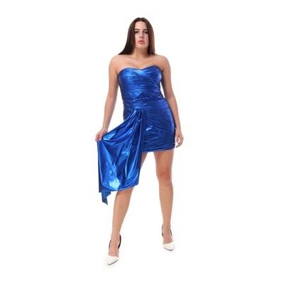 8466 Soiree Dress - blue