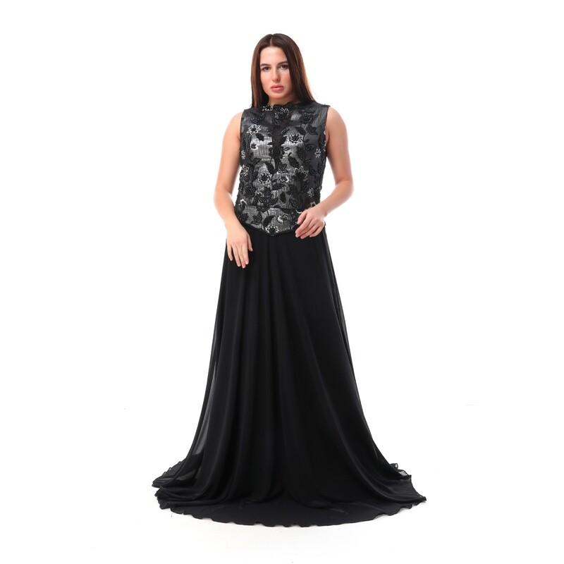 8473 Soiree Dress - black