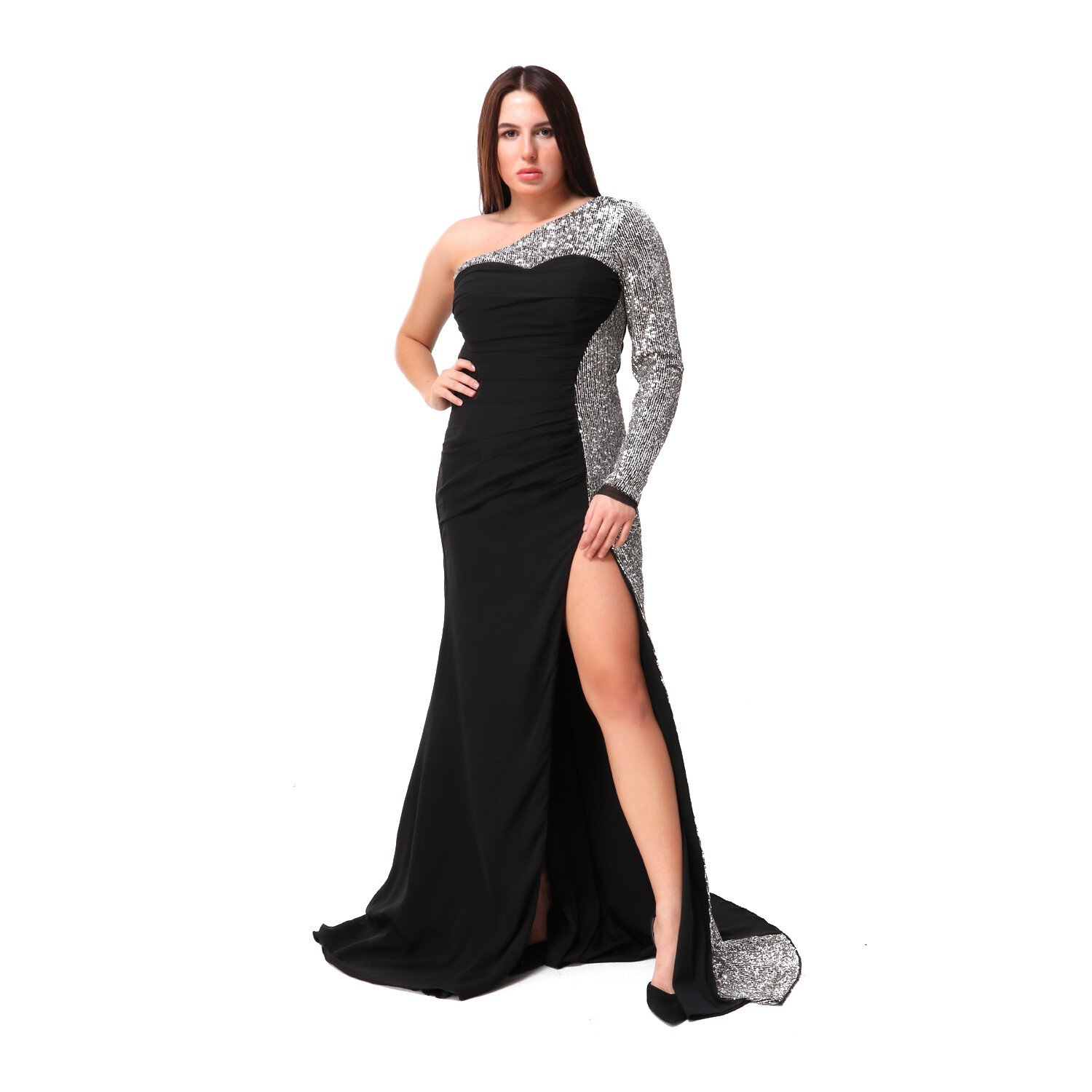 8487 Soiree Dress - black