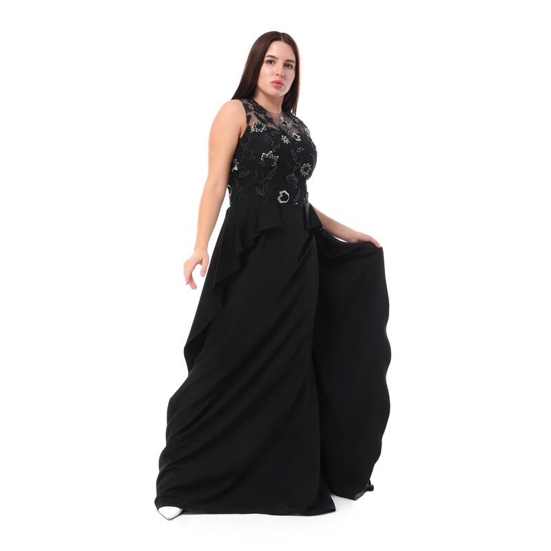 8493 Soiree Dress - black
