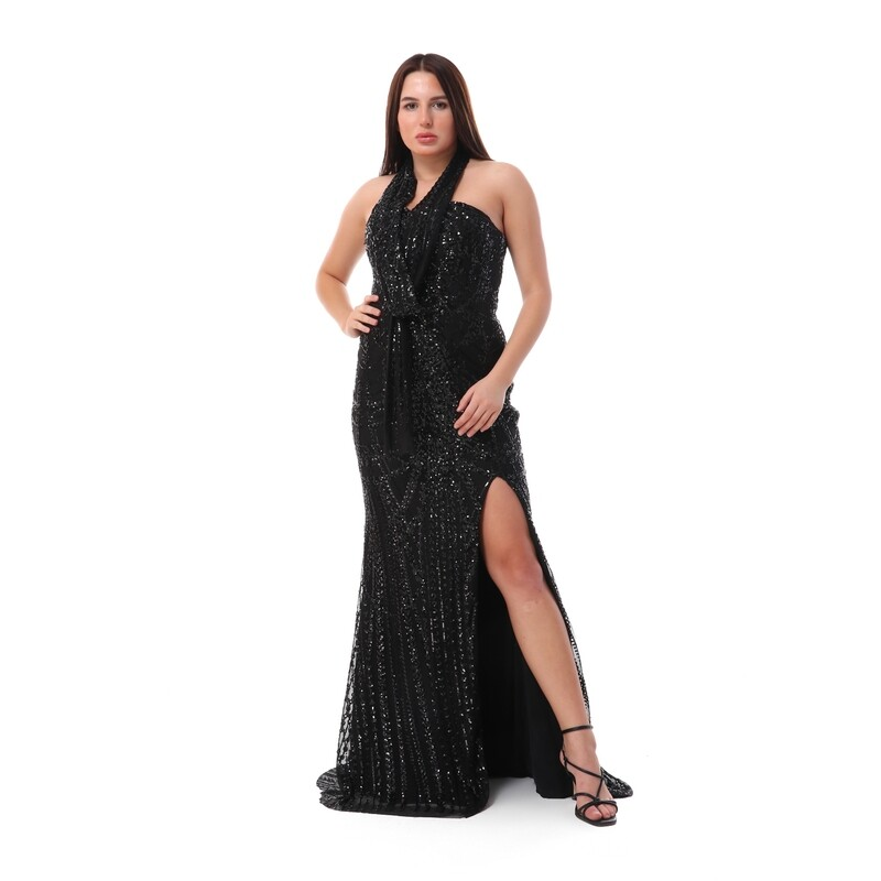 8496 Soiree Dress - Black