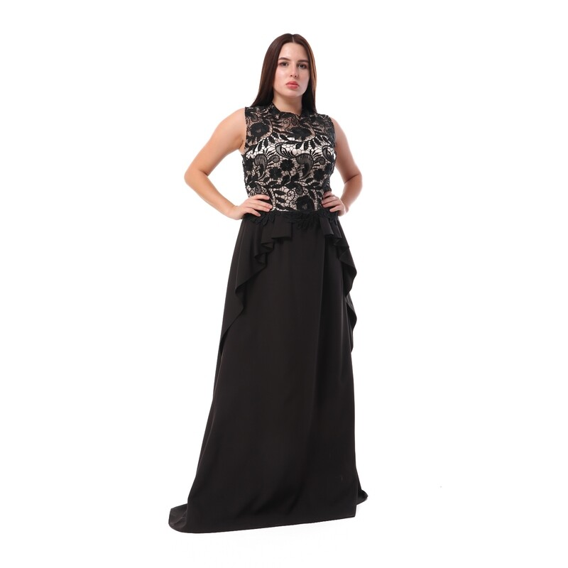 8499 Soiree Dress - Black
