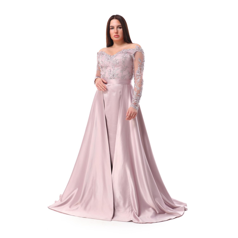 8516 Soiree Dress -Rose