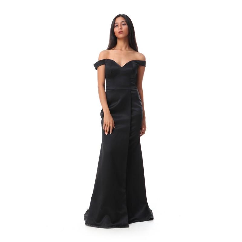 8476 Soiree Dress - Black