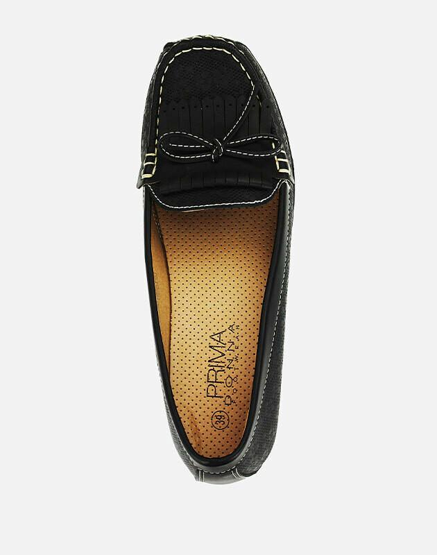 3085 Ballet Flat Shoes - black