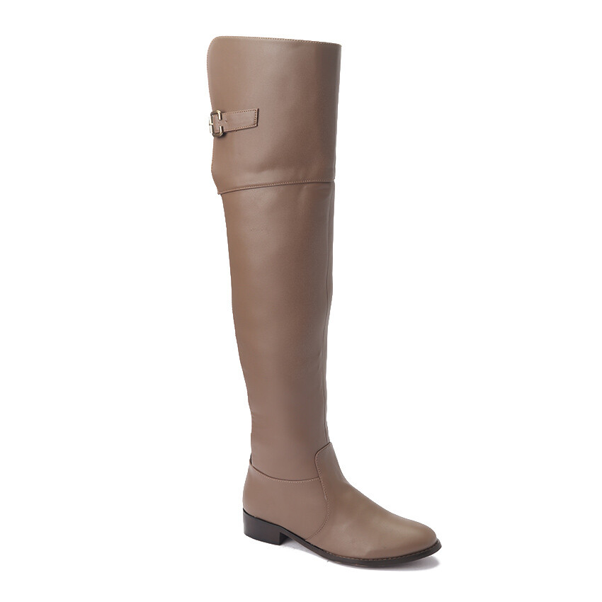 3226 Knee High Boot - Cafe