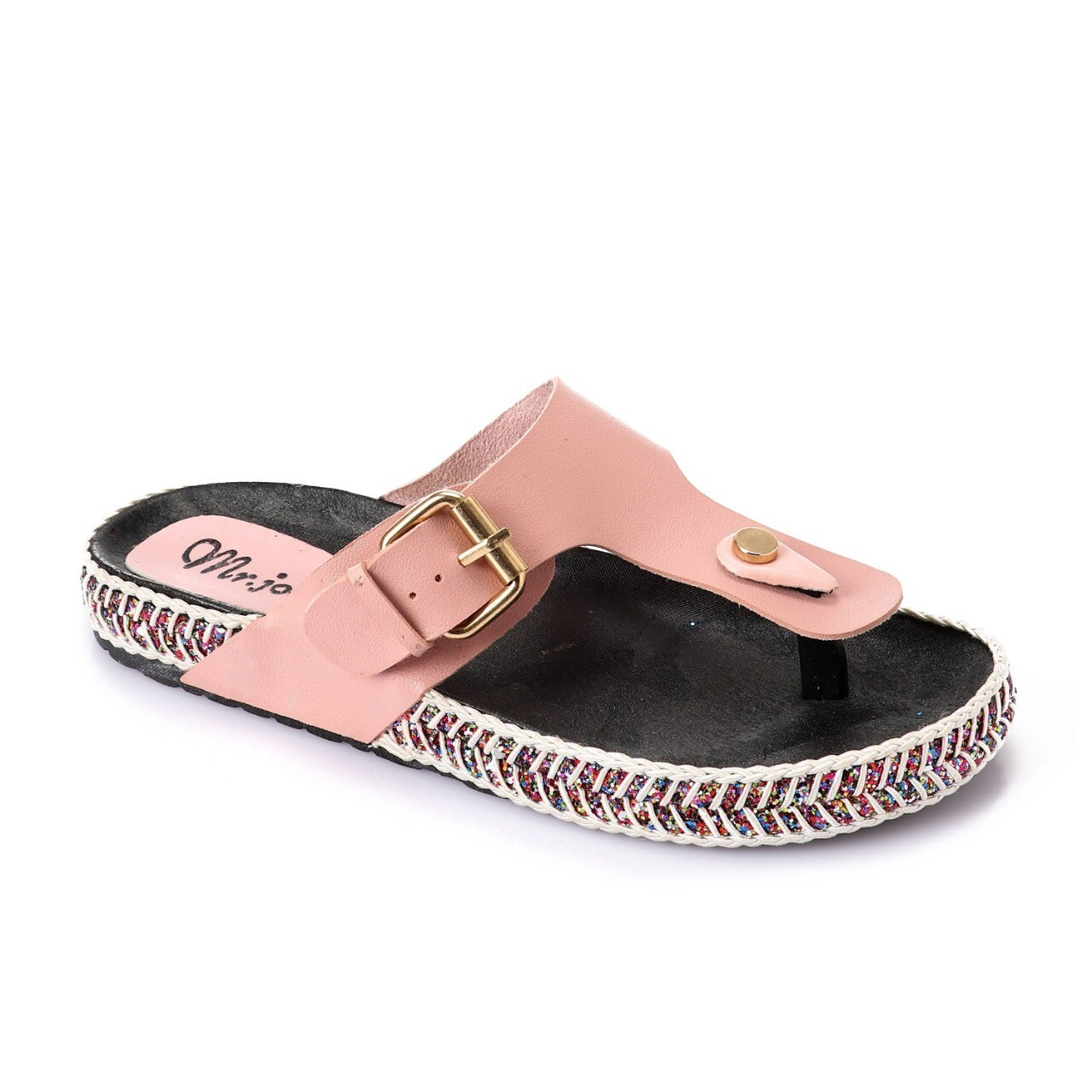 3263 Slipper -  Rose