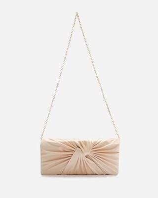4054 Satin Clutch Bag -gold