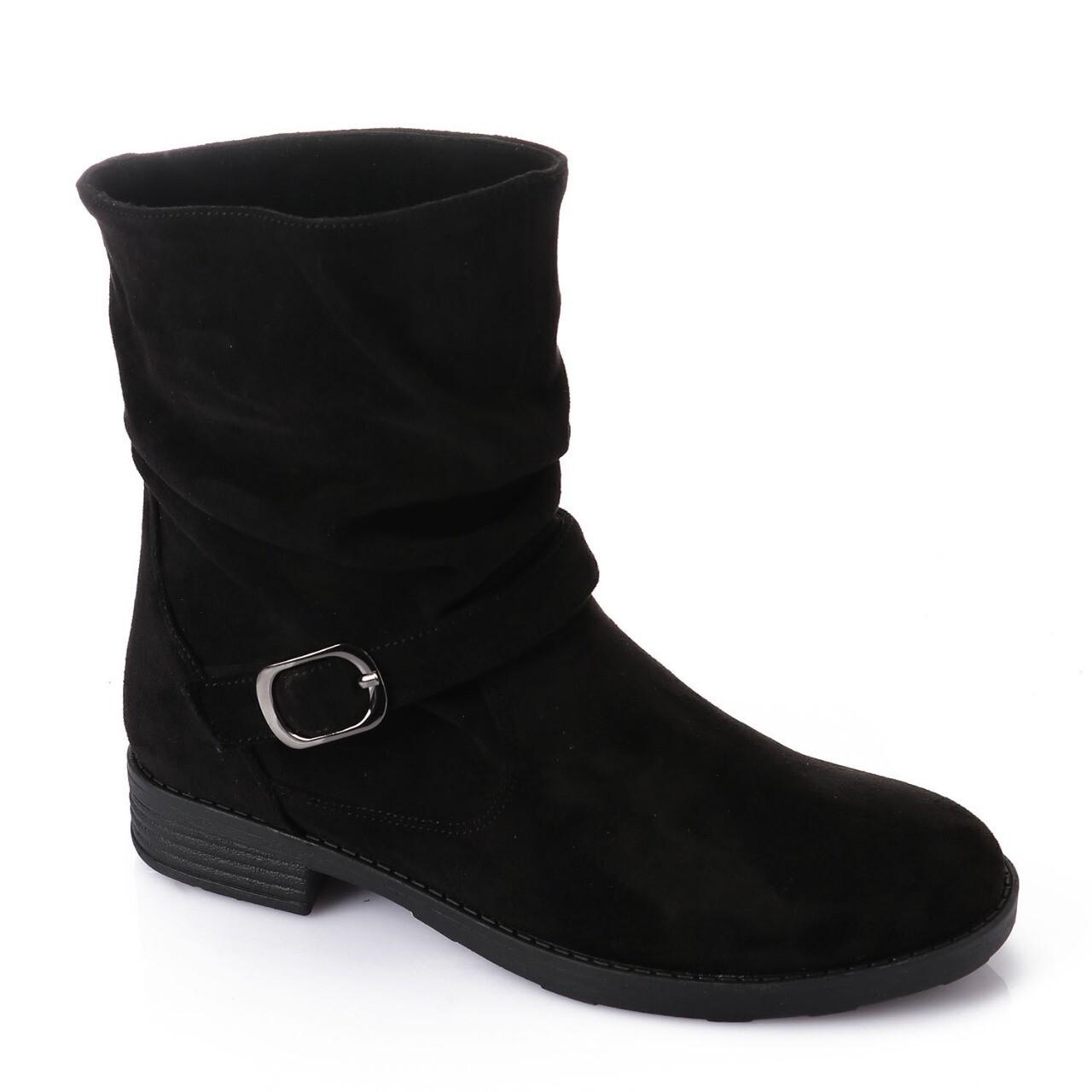 3733 Half Boot - Black SU