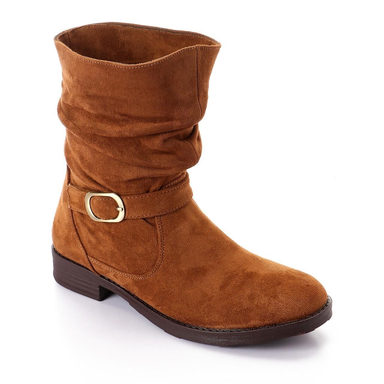 3733 Half Boot - Camel  SU