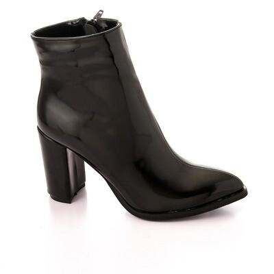 3735 Half Boot - Black V