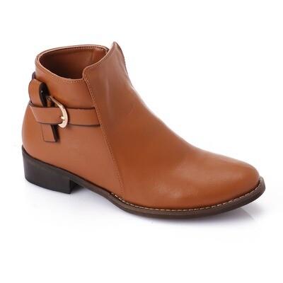 3737 Half Boot - Camel