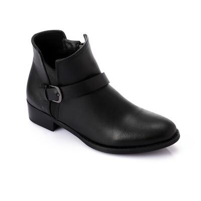 3741 Half Boot - Black