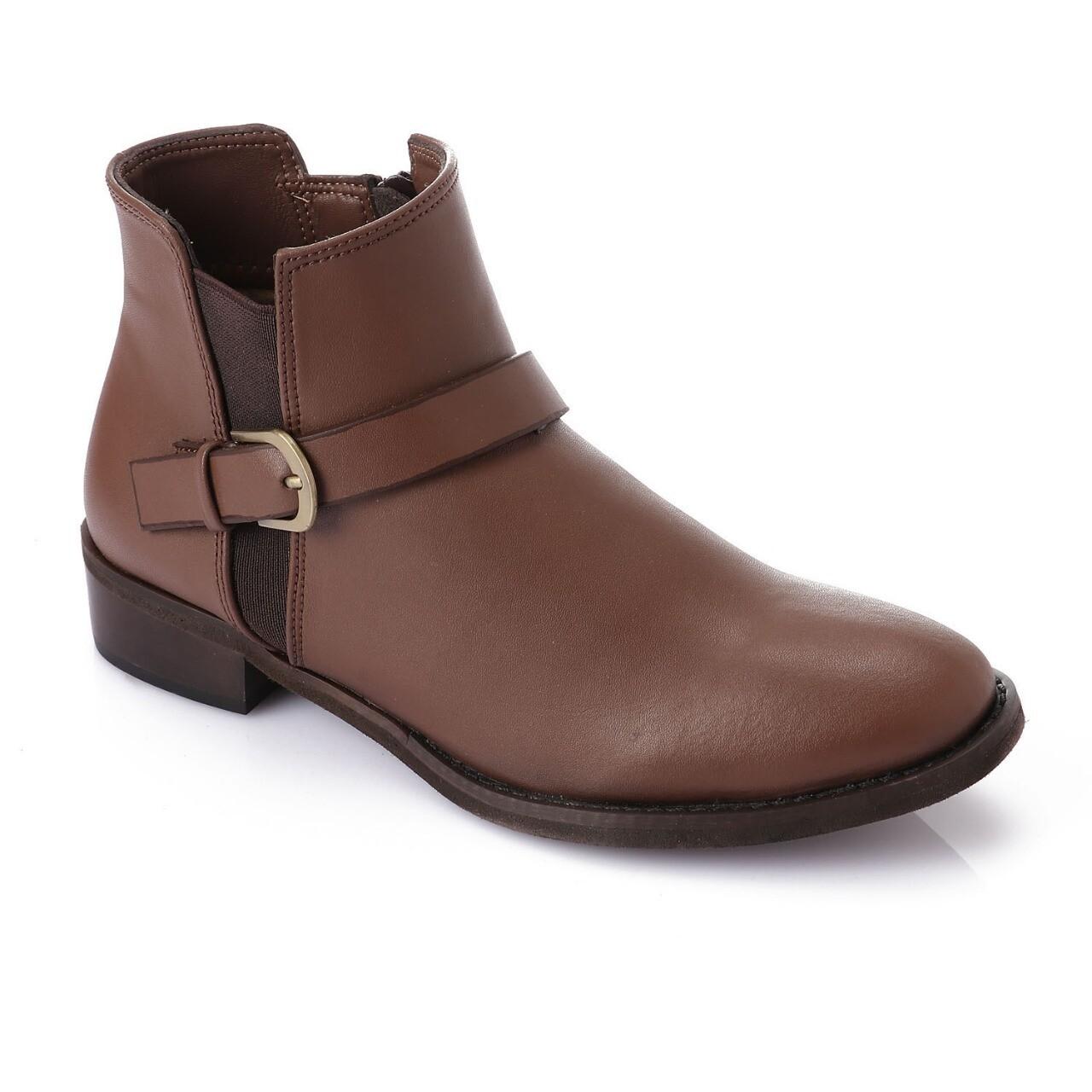 3741 Half Boot - Brown