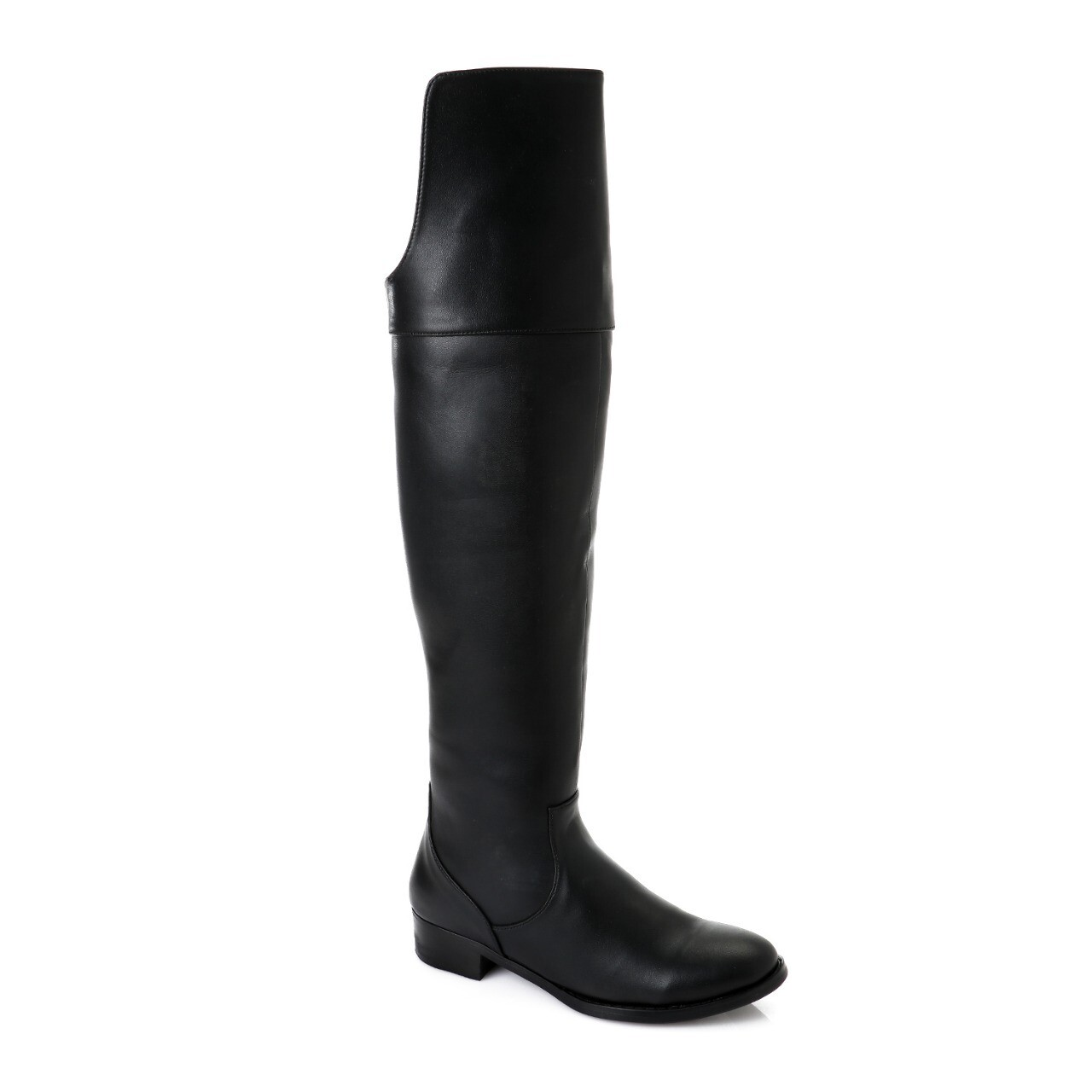 3747 Knee High Boot - Black