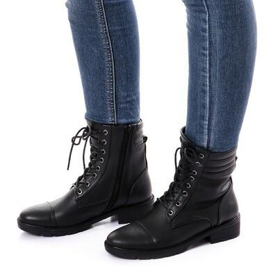 3760 Half Boot - Black