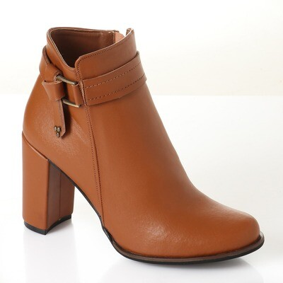 3734 Half Boot - Camel