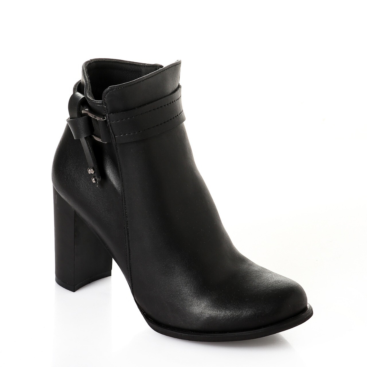 3734 Half Boot - Black