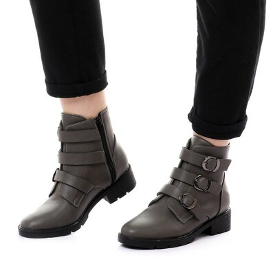 3751 Half Boot - Gray