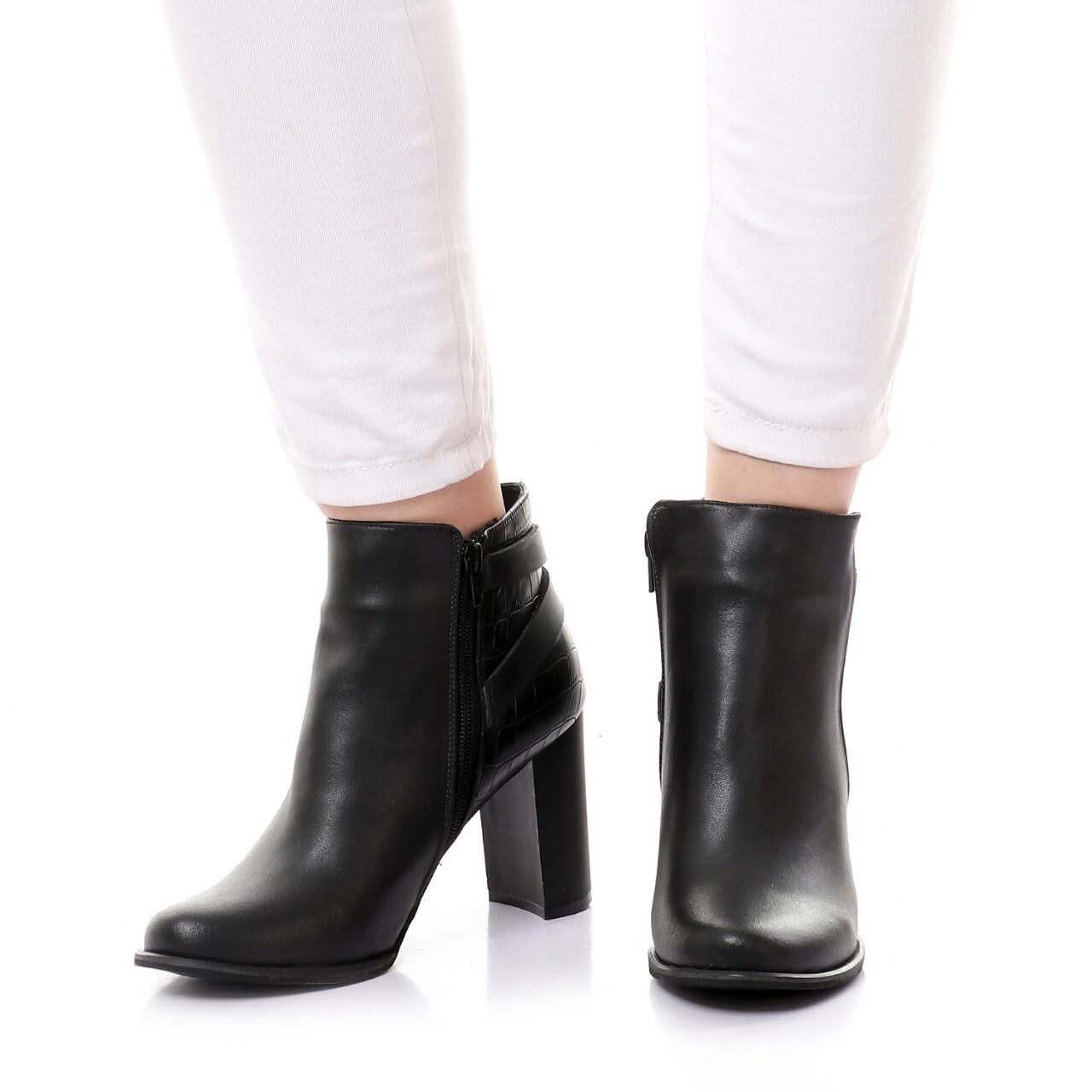 3755 Half Boot - Black