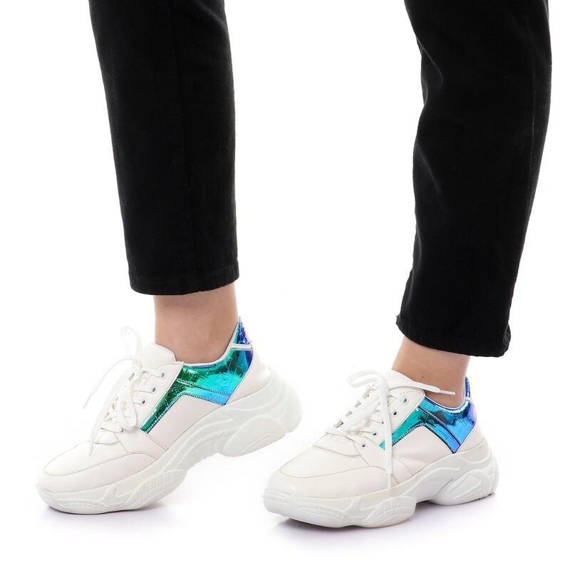3758 Casual Shoes  - White* Blue
