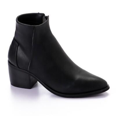 3418 Half Boot - Black