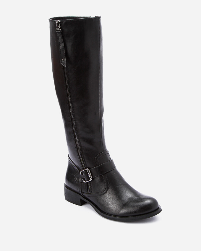3200- Leather Boot - Black